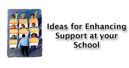 Ideas for Enhancing Support at your School