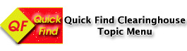 quick find clearinghouse topic menu
